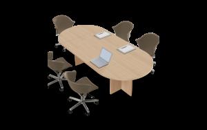tavolo riunione ovale